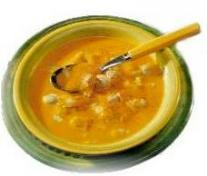 Crème de potiron aux ravioles dans Fou-dingue veloute4